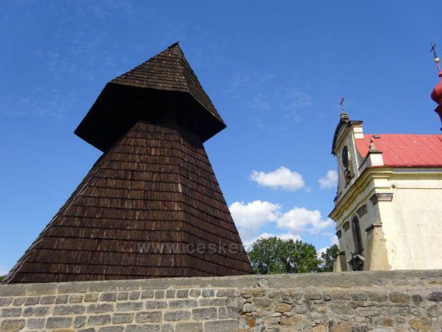 zvonice v Oseku u Sobotky