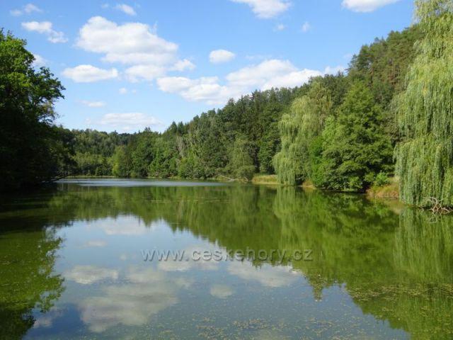 Podtrosecká údolí-rybník Krčák