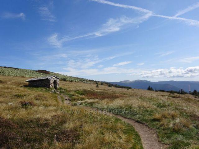 Kamenná Studánka- od Sněžných Jam k Labské boudě
