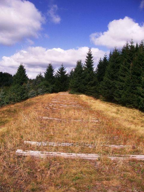 HORA SV.ŠEBESTIÁNA - zbytky zrušené trati
