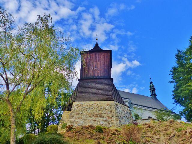 Železný Brod - zvonice pod kostelem sv.Jakuba Většího