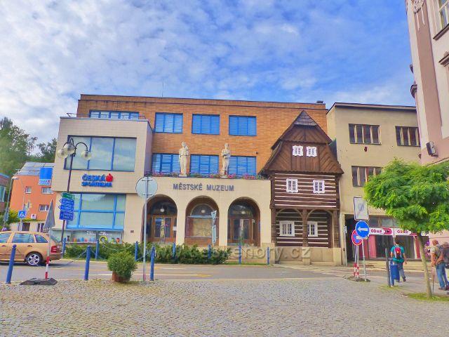 Železný Brod - Městské muzeum na náměstí 3.května