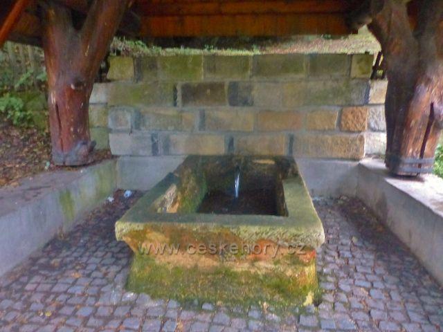 Malá Skála - pramen pitné vody Teplice