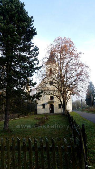 Kostel Nejsvětější Trojice v Chrasticích