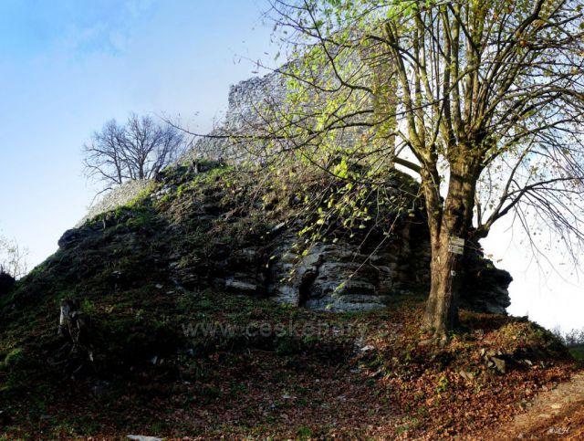 Lanšperský hrad