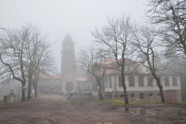 Listopadová mlhavá Černá Studnice 24.11.2019