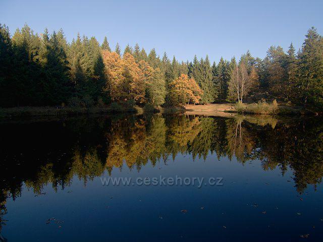 Lesní koupaliště v Kytlicích.