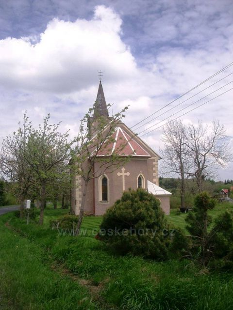 Horní Halže kostelík