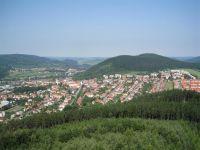 Tišnov-brána Vysočiny z Klucaniny
