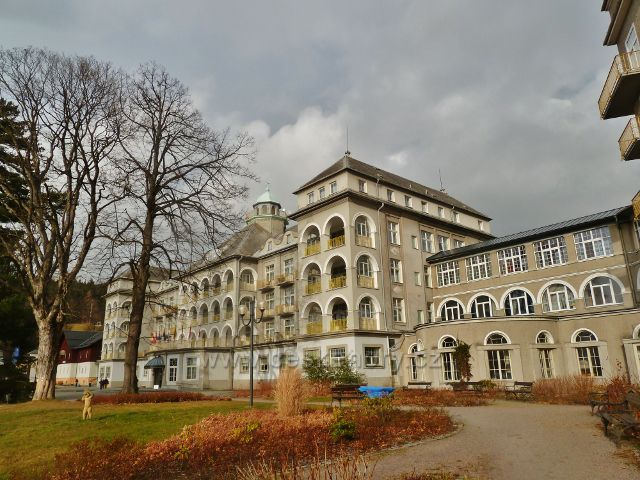 Lázně Jeseník - Priessnitzovo sanatorium