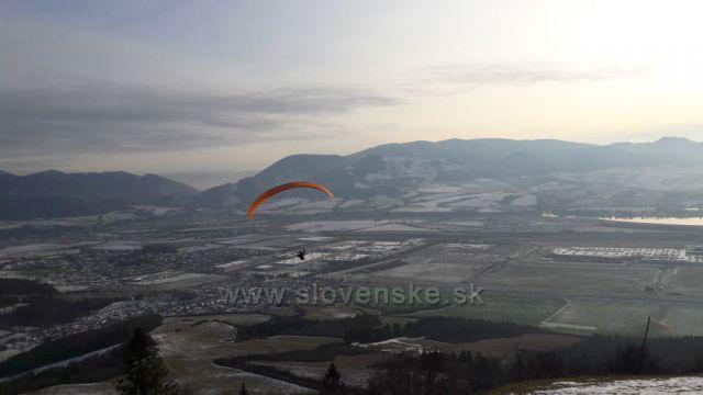 Paragliding ze Straniku