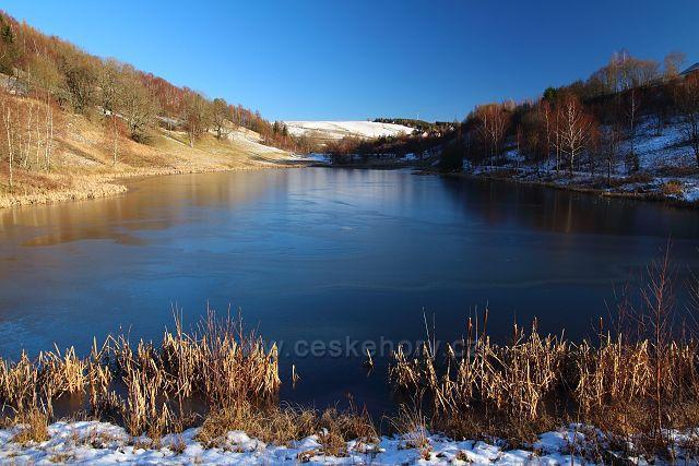 Rybník v Dolní Moldavě