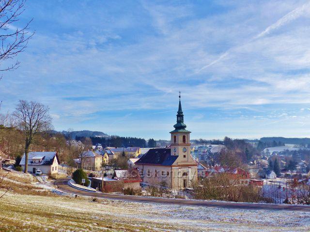 Bystřec - kostel sv. Jakuba Staršího