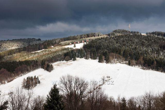 Pohled na Mikulčin vrch