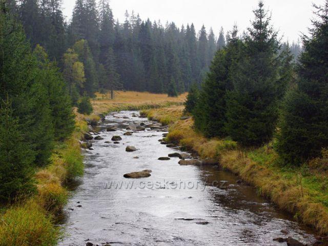 Roklanský potok  hlavní přítok Vydry