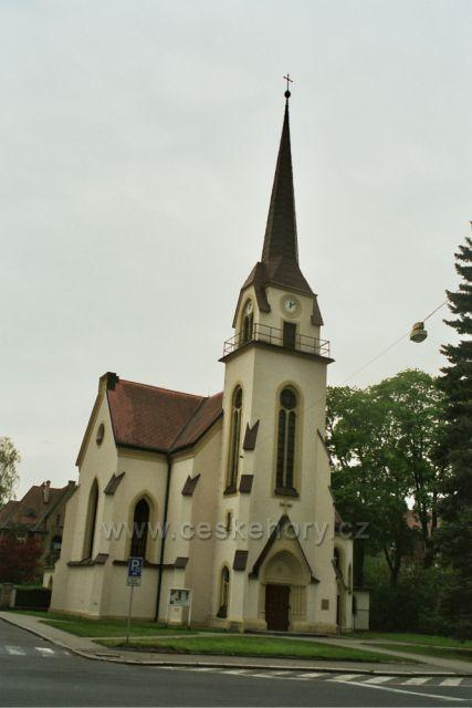 kostel v Šumperku