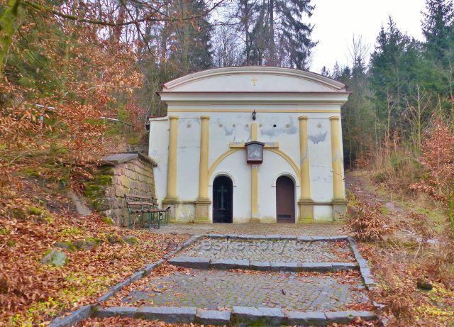 Malé Svatoňovice - Kaple Božího hrobu v Mariánském sadu