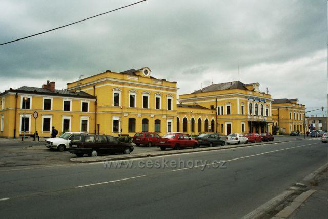 nádraží Šumperk