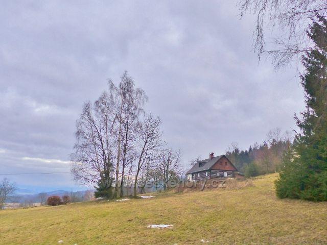 Malé Svatoňovice - chalupa na úbočí Předních hor