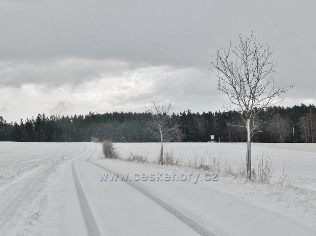 Kunvald - silnička na Končiny