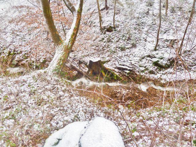 Kunvald - Malý potok pod silničkou na Končiny