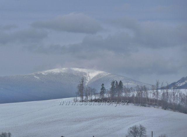 Králíky - pohled na Králický Sněžník
