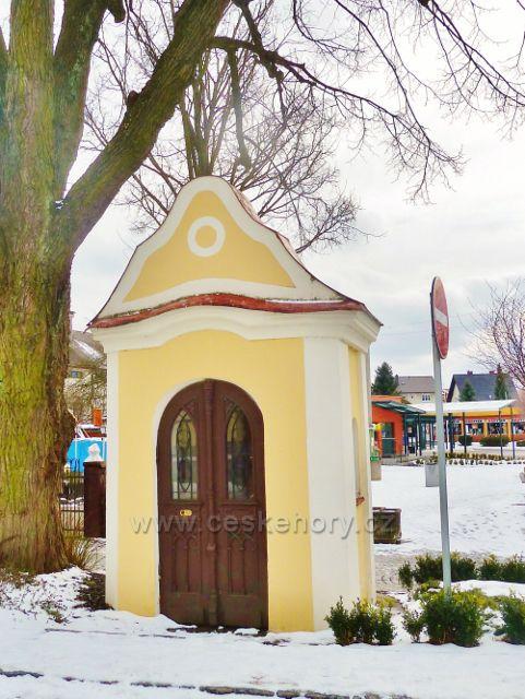 Králíky - kaplička sv.Jana Nepomuckého