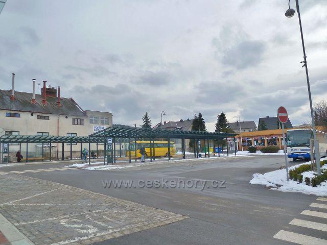 Králíky - zrekonstruované autobusové nádraží