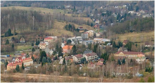 Mníšek střed obce
