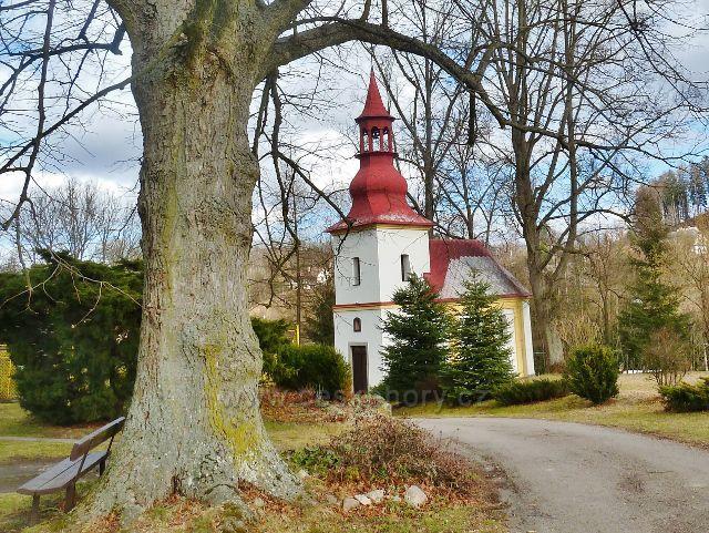 Kunvald - kaple Nanebevzetí Panny Marie