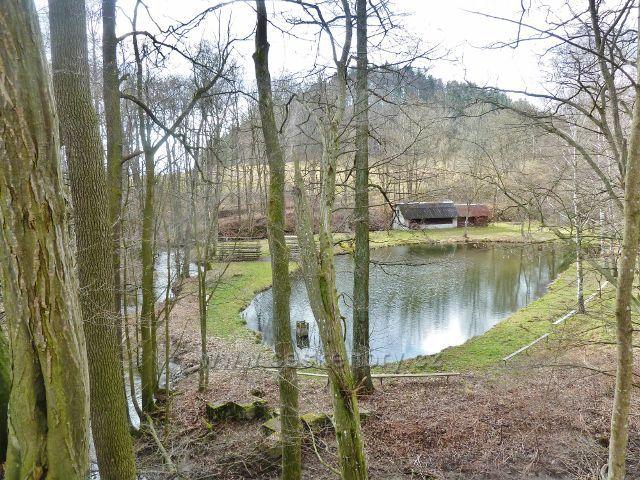 Kunvald - rybník na Rokytence slouží místním rybářům k chovným účelům