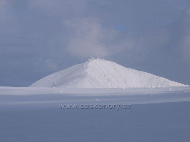 1 603,3 metrů pod sněhem.
