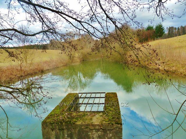 """Žamberk - rybník v """"Polsku"""""""