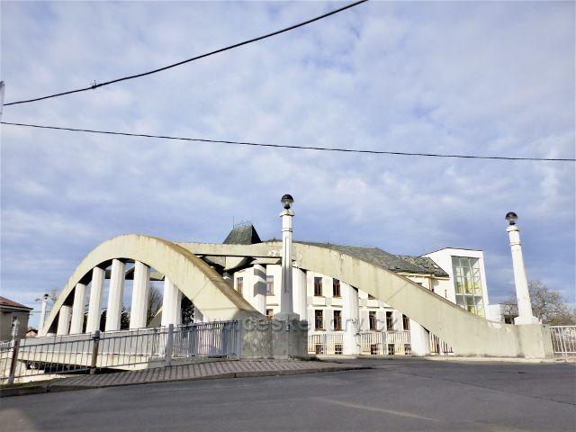 Doudleby nad Orlicí - most přes Divokou Orlici