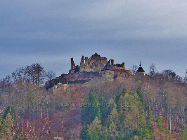 Potštejn - zřícenina hradu Potštejn