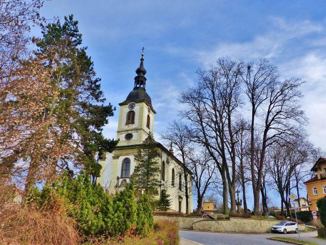 Potštejn - kostel sv.Vavřince
