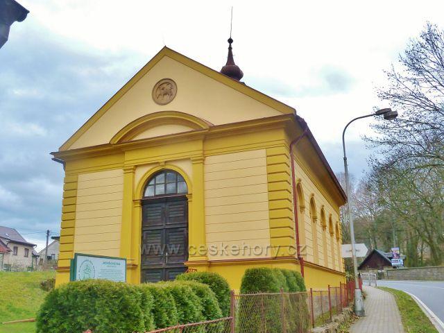 Potštejn - kostel Evangelické jednoty bratrské
