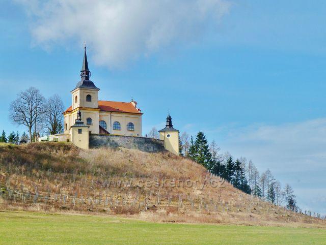 Homol - kostel Panny Marie Bolestné