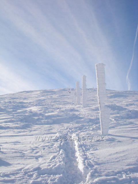 výstup na Sněžku, Krkonoše