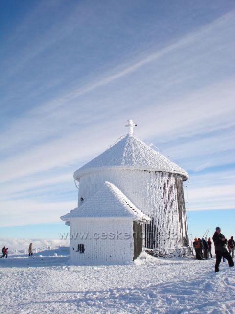 na Sněžce, Krkonoše