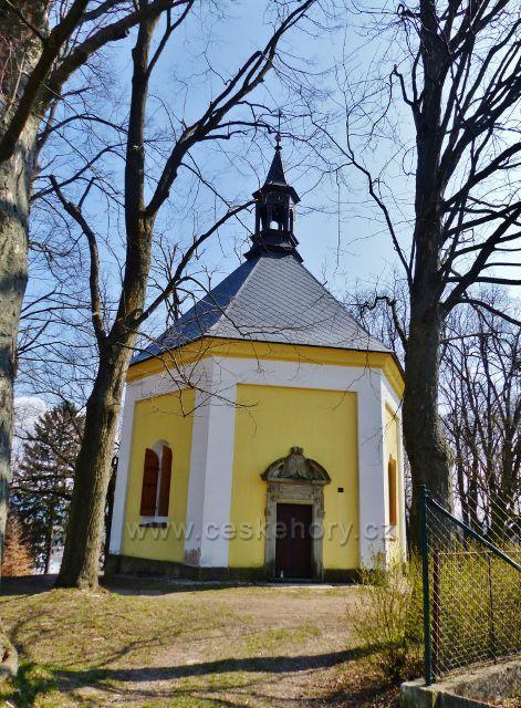 Žamberk - barokní kaple sv.Rozálie