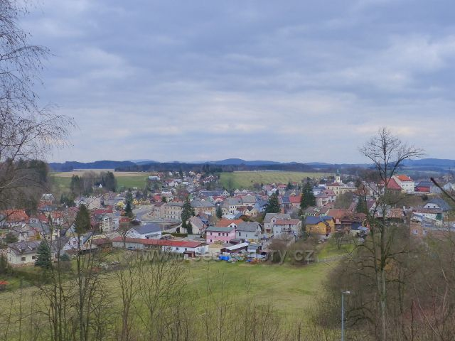 Žamberk - Draha a část Podměstí