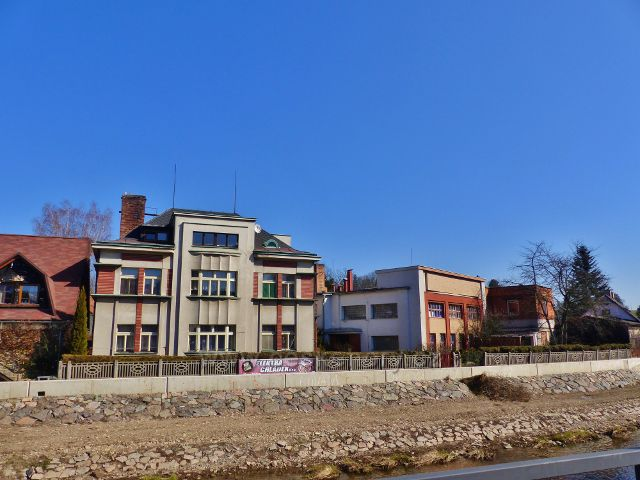 Žamberk - Sukanova vila a bývalá syrečkárna