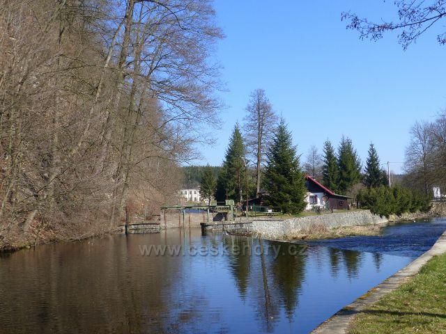 Žamberk - Divoká Orlice a tovární náhon