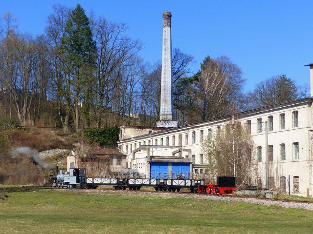 Žamberk -souprava Kolínské řepné drážky u Muzea starých strojů