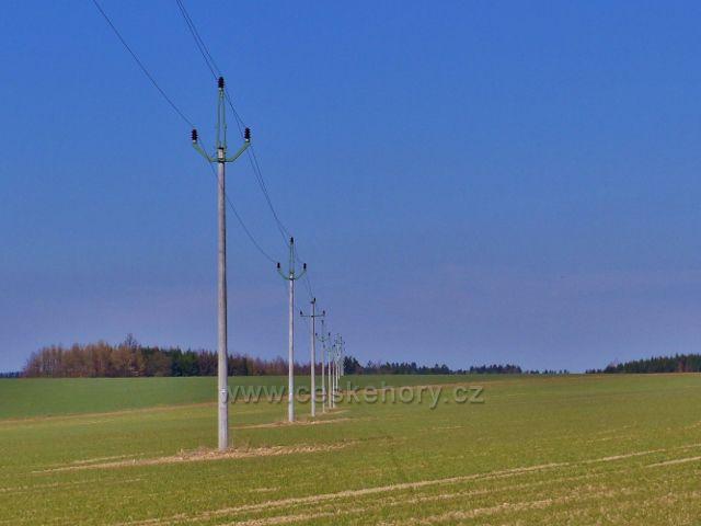 Helvíkovice - elektrovod