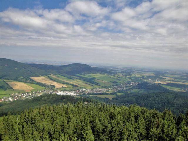 Údolí Bělé a polské roviny