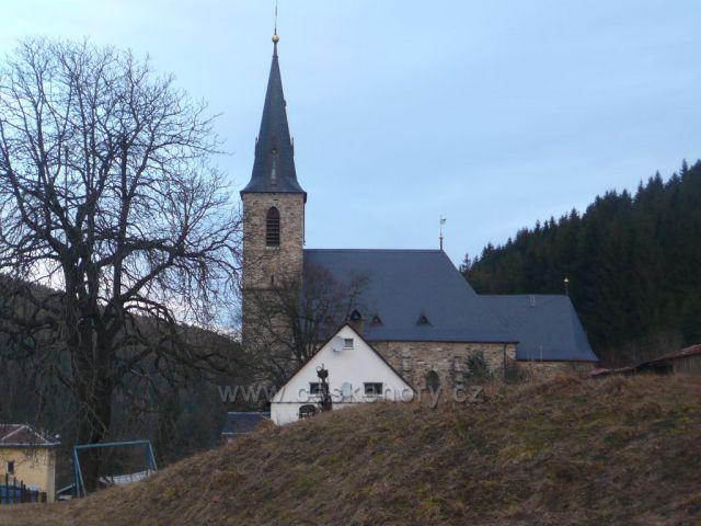 Horní Údolí - kostel sv. Jana Křtitele