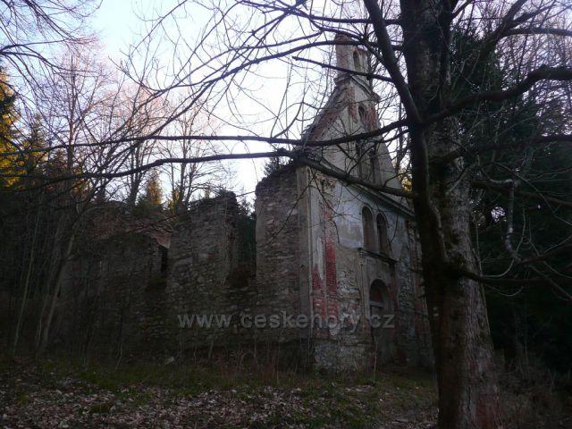 Horní Údolí - kaple sv. Marty