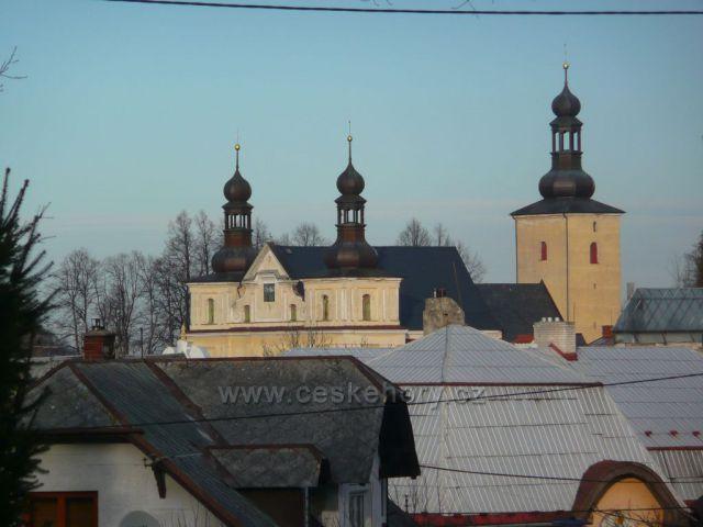 Zlaté Hory - kostel Nanebevzetí Panny Marie